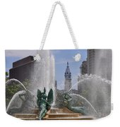 Philly Fountain Weekender Tote Bag