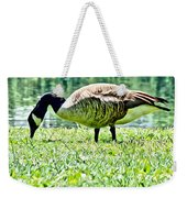 Philly Goose In The Grass Weekender Tote Bag