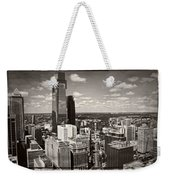 Philly In The Clouds Weekender Tote Bag
