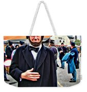 Philly Lincoln Weekender Tote Bag
