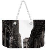 Philly Street Weekender Tote Bag