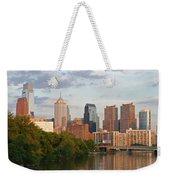 Philly Summer Skyline Weekender Tote Bag