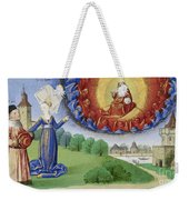 Philosophy Instructs Boethius On God Weekender Tote Bag by Getty Research Institute