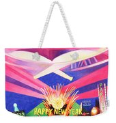 Phish New Years In New York Middle Weekender Tote Bag by Joshua Morton