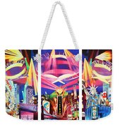 Phish New York For New Years Triptych Weekender Tote Bag