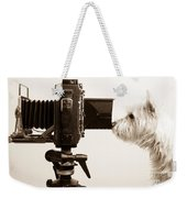 Pho Dog Grapher Weekender Tote Bag