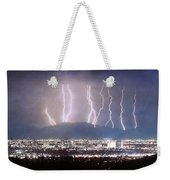 Phoenix Arizona City Lightning And Lights Weekender Tote Bag by James BO  Insogna