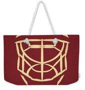 Phoenix Coyotes Goalie Mask Weekender Tote Bag