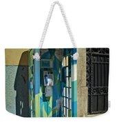 Phone Booth In Blues - Oporto Weekender Tote Bag