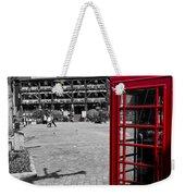 Phone Box London Weekender Tote Bag