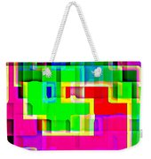 Phone Case Art Intricate Colorful Dynamic Abstract City Geometric Designs By Carole Spandau 131 Cbs  Weekender Tote Bag