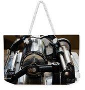 Phonograph Recording Cylinder Weekender Tote Bag