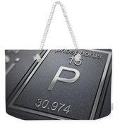 Phosphorus Chemical Element Weekender Tote Bag