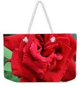 Photograph Reddest Of Roses Weekender Tote Bag