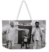 Photographer And Assistant Weekender Tote Bag