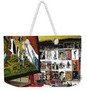 Photographer's Stand Us-mexico Border Town Nogales Sonora Mexico 2003 Weekender Tote Bag