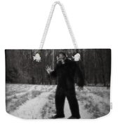 Photographic Evidence Of Big Foot Weekender Tote Bag by Edward Fielding