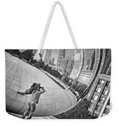 Photographing The Bean - Cloud Gate - Chicago Weekender Tote Bag