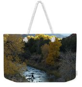 Photographing Zion National Park Weekender Tote Bag
