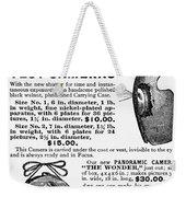 Photography Camera, 1889 Weekender Tote Bag