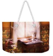 Photography - Creative Pursuits Weekender Tote Bag by Mike Savad
