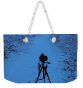 Photography In The Winter Weekender Tote Bag