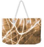 Photon Flow Weekender Tote Bag
