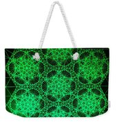 Photon Interference Fractal Weekender Tote Bag