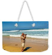 Photorgapher Near The Ocean Weekender Tote Bag