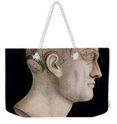 Phrenology Weekender Tote Bag by Georgia Fowler