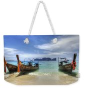 Phuket Koh Phi Phi Island Weekender Tote Bag by Bob Christopher