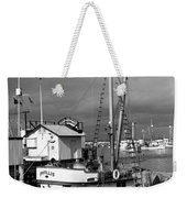 Phyllis Purse-seiner Monterey Wharf California  Circa 1940 Weekender Tote Bag