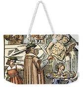 Physician & Plague Victim Weekender Tote Bag
