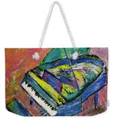 Piano Blue Weekender Tote Bag