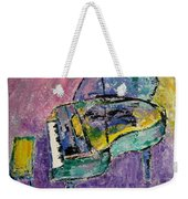 Piano Green Weekender Tote Bag