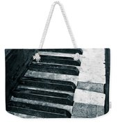 Piano Keys Weekender Tote Bag