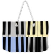 Piano Keys In Quad Colors Weekender Tote Bag