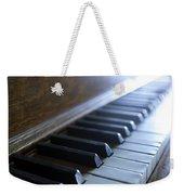 Piano Keys Weekender Tote Bag by Jon Neidert
