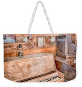 Piano Man Weekender Tote Bag