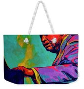 Piano Player Weekender Tote Bag