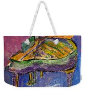 Piano Purple Weekender Tote Bag