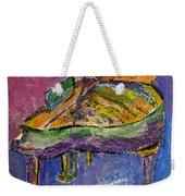 Piano Purple Weekender Tote Bag