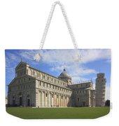 Piazza Del Duomo Pisa Italy  Weekender Tote Bag