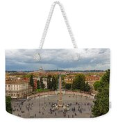 Piazza Del Popolo - Impressions Of Rome Weekender Tote Bag
