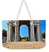 Piazza Della Vittoria - Genova. Italy Weekender Tote Bag