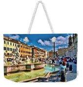 Piazza Navona - Rome Weekender Tote Bag