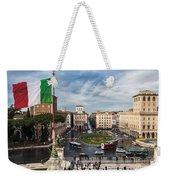 Piazza Venezia Weekender Tote Bag by John Wadleigh