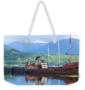 Pibroch Glascow Rusty Ruin Weekender Tote Bag