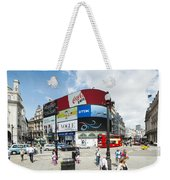 Picadilly Circus London Weekender Tote Bag
