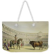 Picador Challenging The Bull, 1865 Weekender Tote Bag